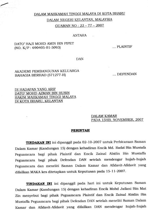 perintah page 1 of 3