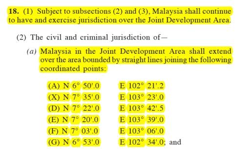 MTJA - Malaysia Area