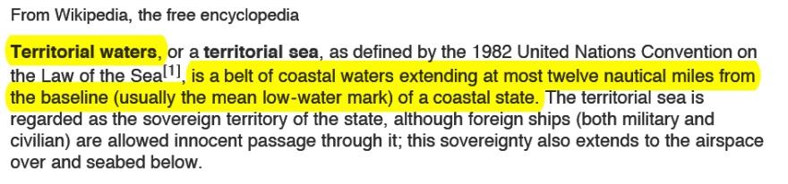 Territorial Water
