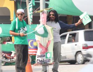 Jentera Kempen Che Long di Kg Bharu, Kuala Besut